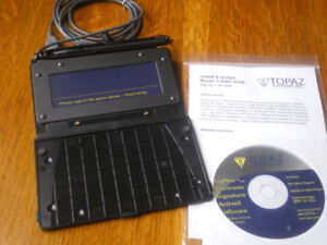 Not Used Fully Functional Topaz Electronic Signature Pad