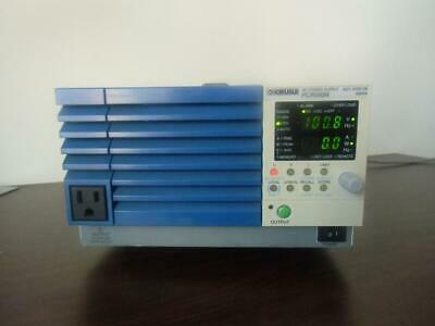 1pc Kikusui Pcr500m 500w 270v Ac Power Supply By Dhl Or Ems G6492 Xh