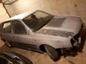 1995 Volkswagen Golf Sedan Project Car