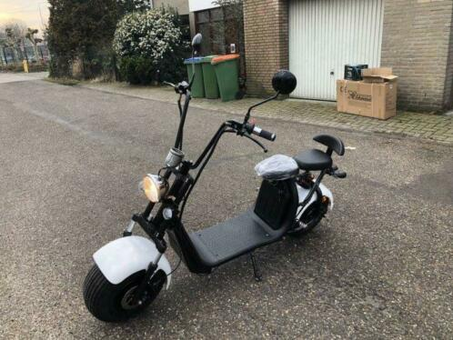Electrische Step Harley Citycoco 24 Km H Met Baantoelating Scooters Marques Autre 2ememain