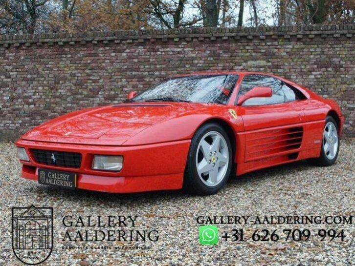 Ferrari 348 Tb Swiss Car, Full Known History, 3 Owners, Only