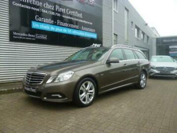 mercedes-benz e 220 classe e cdi blueefficiency