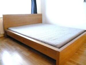 One IKEA bed twin frame.