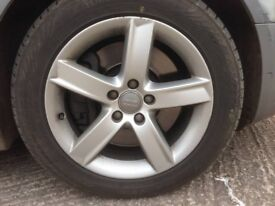 Audi Alloys & Winter Tyres