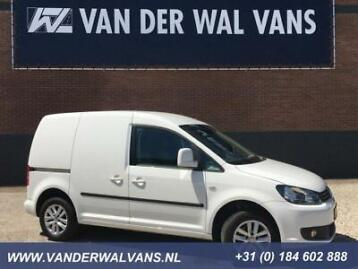 Volkswagen Caddy 1.6TDI Airco, zijdeur, trekhaak, cruise,...