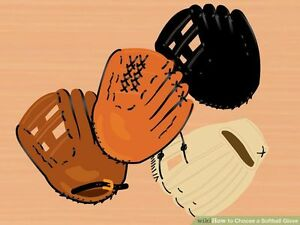 I'm looking to buy a couple of softball gloves + first base glov
