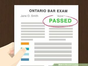 Ontario Bar Exam Indices and Cheat Notes