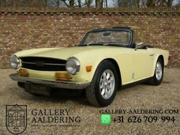 Triumph TR6 Overdrive, Highly Original