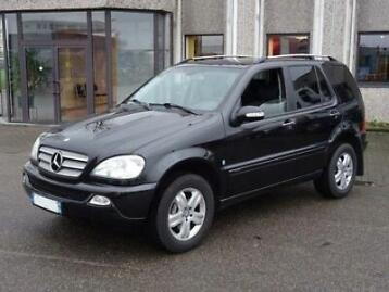 mercedes-benz m-klasse ml 270 cdi 4x4 cdi