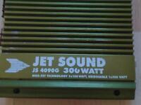 Jet Sound js 4090g 300 watt car amp
