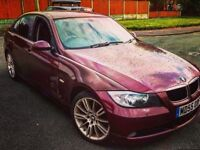 BMW E90 318I RARE BARBERA RED 2006 SALOON M SPORT 2.0 SAME ENGINE 320I 3 SERIES 320d 330d mv3 leeds