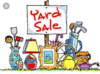 Yard Sale: Sat. May 5th