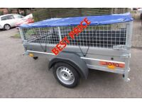 Car camping box trailer Mobility scooter trailer 750kg + Mesh