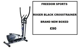 Roger Black Plus Magnetic Cross Trainer brand new boxed rrp £179.99 reduced £80