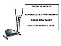 Roger Black Plus Magnetic Cross Trainer brand new boxed