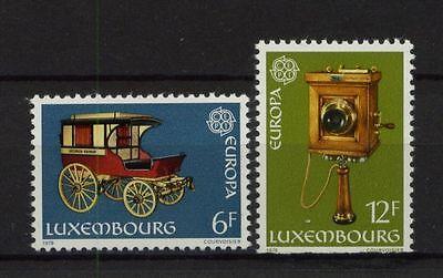Luxembourg 1979 Europa CEPT MNH Set
