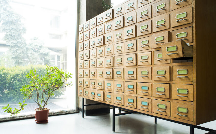 Your Guide to Vintage Filing Cabinets