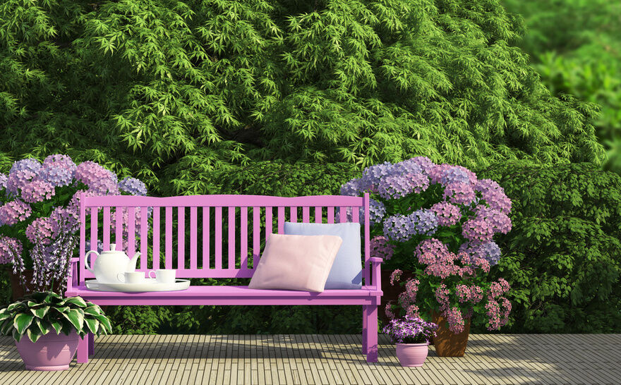 5 Ways To Decorate With A Garden Bench EBay