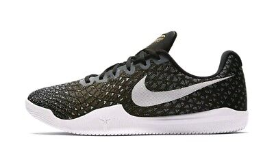 e279d58aff59 Nike Kobe Mamba Instinct Basketball Shoes 852473-010 Men s US 10 Black Grey  NEW