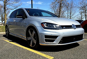 2016 VW GOLF R +Tech Pack 6sp Man  $730 incentive (sec. deposit)