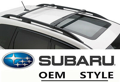 - Roof Rack Cross Bars OE Style Set  For 09-12 13 Subaru Forester Luggage Carrier