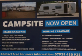 Static caravan for rent in south Lanarkshire Scotland