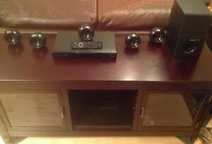 Blu-ray 5.1 home theater amp and speaker system