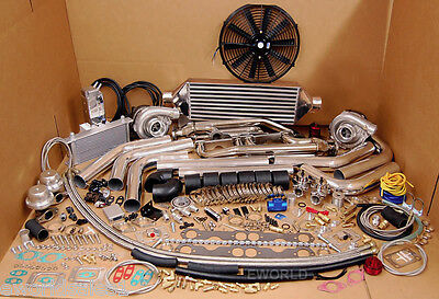 Chevy Twin Turbo Kits - Twin Turbo SBC Kit GMC Chevy Blazer Tahoe 305 350 5.7L 1500 Silverado Sierra NEW