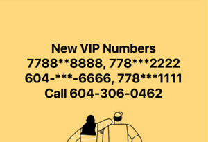 VIP Phone numbers ending  8888,1111,2222 , 1313 Call O2 Computer