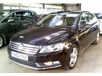 2012 (62) Volkswagen Passat 2.0 TDI BLACK BlueMotion Tech SE 4DR SALOON OWNER & FULL SERVICE HISTORY