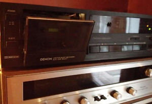 Denon DR-M10 2 head/3 motor cassette deck with tapes $40 London Ontario image 1