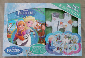 Frozen My First Look & Find with Giant Puzzle