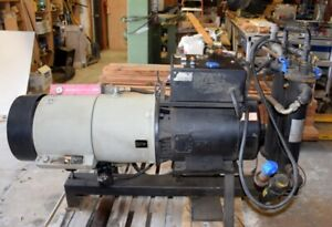 HYDROVANE ROTARY SCREW AIR COMPRESSOR & ATLAS COPCO DRYER