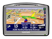 TomTom GO 720 Car SAT NAV GPS Receiver with GB, Europe, USA and Canada Maps Speed Cameras