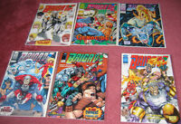 Brigade - Image Comics (6 comics from early 90s)