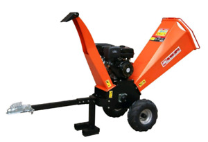 """Brand new gas powered wood chipper 4"""" 3/4"""