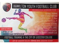 Hamilton youth football club All new players welcome