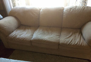 Like brand new 3 seater micro fiber couch