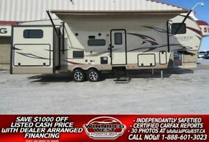 2017 Forest River ROCKWOOD SIGNATURE ULTRA LITE 8301WS 34FT TRIP