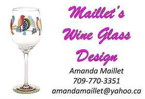 Personalized Wine Glasses St. John's Newfoundland image 9