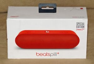"Mint Condition ""Product Red"" Beats Pill+ Bluetooth Speaker"