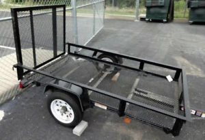 4 x 7 Carry-On utility trailer.