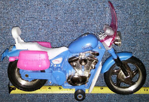 Qty 3 x Barbie Motorcycle Bikes $5.00 each .  From a smoke free