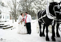 Winter Wedding Photography Sale - Only $600!