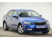 Skoda Octavia 1.6 TDI CR SE (race blue metallic) 2015
