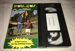 Dorf on Golf VHS Cult Comedy Tim Conway