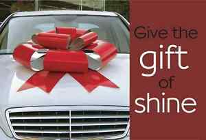 Car Cleaning & Detailing Gift Certificates For Christmas    We'r
