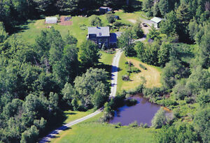 NS Home with 13.5 acres waterfront
