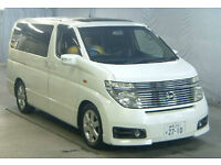 FRESH IMPORT 2004 LOW MILEAGE NISSAN ELGRAND HIGHWAY STAR V6 AUTO 25000 MILES