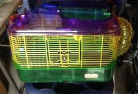 Crittertrail & Hager hamster cages